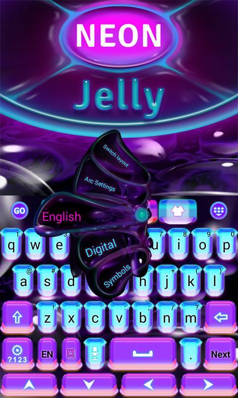 Neon-Jelly-GO-Keyboard-Theme 10