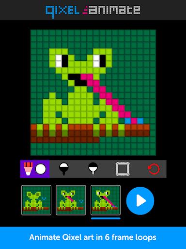 Qixel Animate - Pixel Animator  screenshots 4