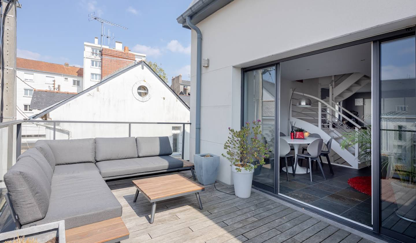 Appartement contemporain avec terrasse Nantes