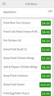 Golden Wok Ordering - náhled