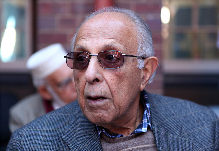 Ahmed Kathrada. Picture: SUNDAY TIMES