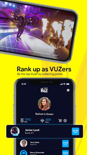 360VUZ - Live Stream 360u00b0 VR Video App 4.6.7 screenshots 4