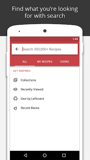BigOven: 500,000+ Recipes screenshot