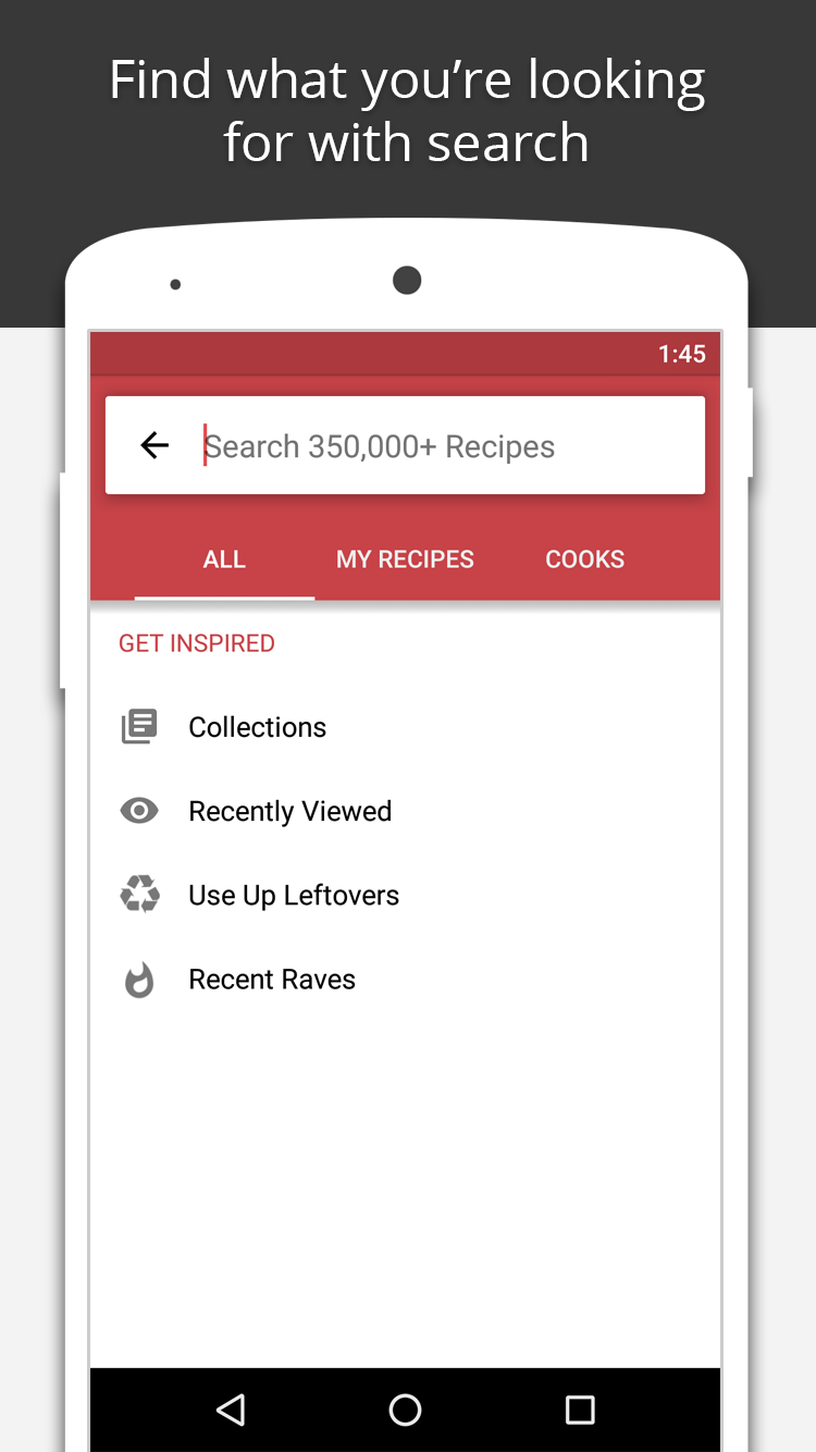BigOven: 350,000+ Recipes screenshot #3