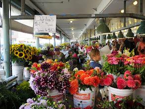 Photo: Cut flowers were the best deal.
