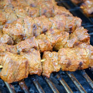 Mustard Beef Kebabs Recipe