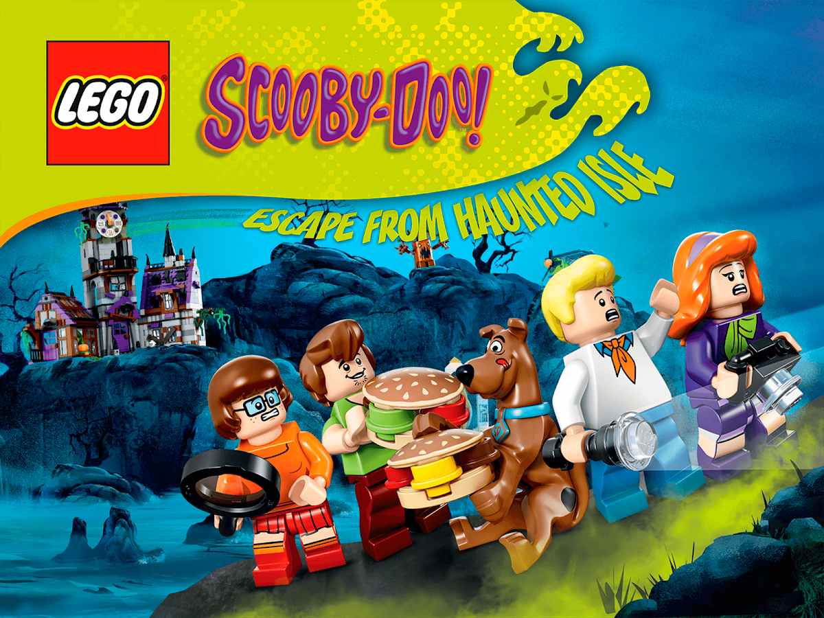 lego scooby doo haunted isle screenshot