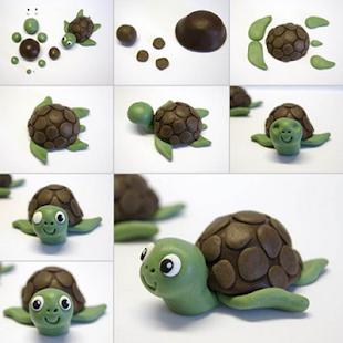DIY Clay art step by step - náhled