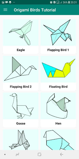 Origami Flapping Bird - ResearchParent.com | 512x256