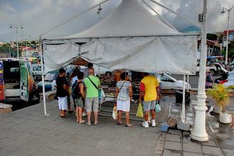 Photo: marché poissons Basse Terre
