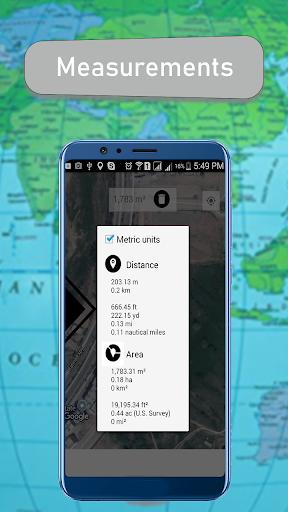 GPS Fields Area Measure & Map Distance Calculator App Report on ...