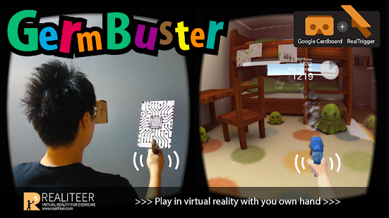 GermBuster VR Google Cardboard- screenshot thumbnail
