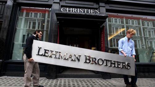 股市大崩盤的前兆-雷曼兄弟