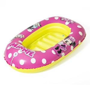 Barca gonflabila 1 fetita, Minnie, 1-6 ani, 112x70 cm