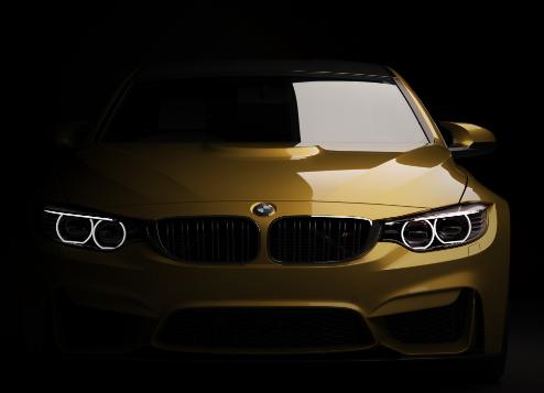 Imagem de uma BMW.