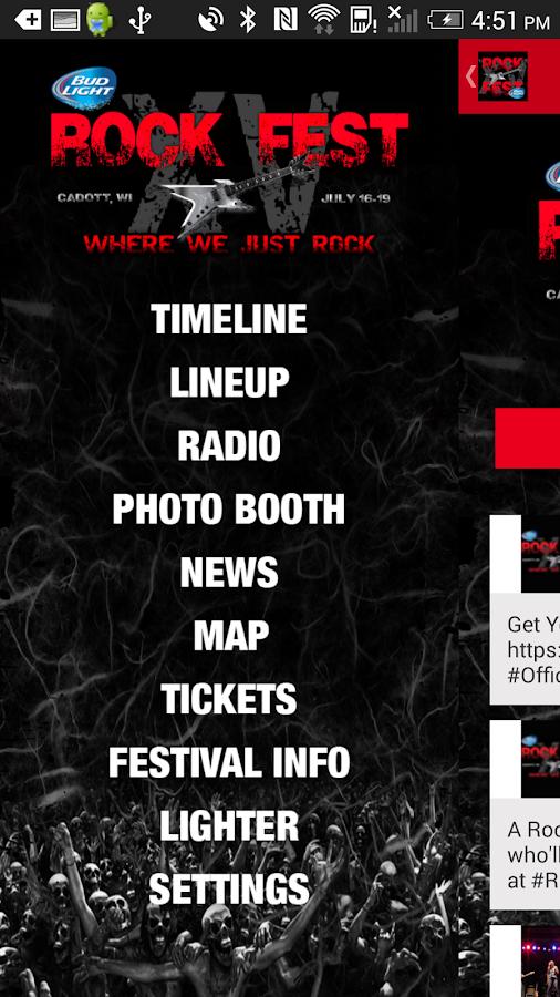 Rock Fest ~ Cadott, WI - screenshot
