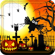 Halloween Owls live wallpaper icon
