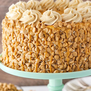Loaded Peanut Butter Layer Cake.