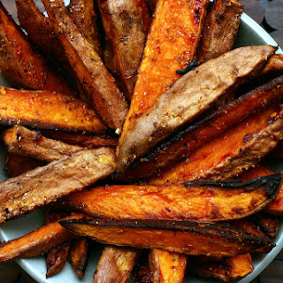 Roasted Spiced Sweet Potatoes.