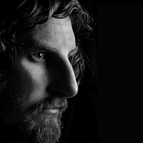Another Serious Face by Tiffany Hibbins - People Portraits of Men
