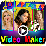 Photo Video Maker with Music - Video Editor