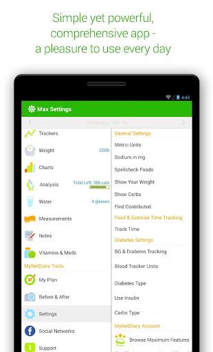 Calorie Counter - MyNetDiary 6.6.3 screenshots 22