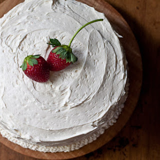Strawberry Frosting White Cake Recipes