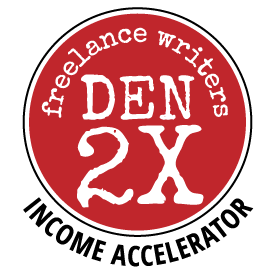Freelance Writers Den 2X Income Accelerator