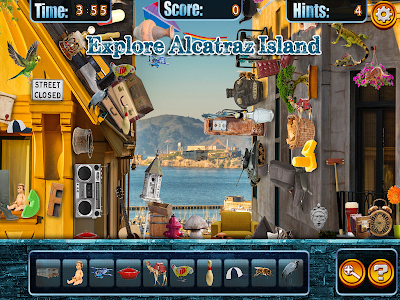 Hidden Objects Alcatraz Escape screenshot 2