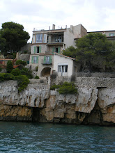 Photo: A cliffside home that we're sure fits the description: if you have to ask, you can't afford it.