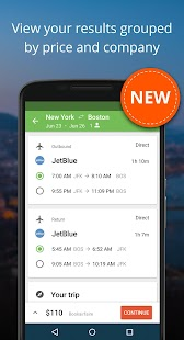 Liligo Find Cheap Flight Deals- screenshot thumbnail