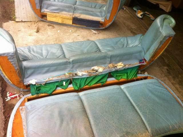 透氣皮沙發