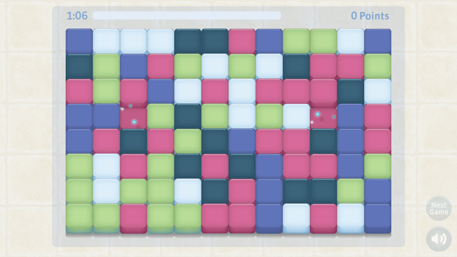 Game color squares - Brain Games Screenshot