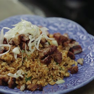 Crab Fat Fried Rice.