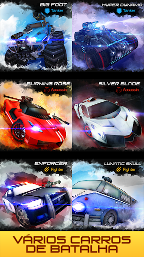 Overload Multiplayer Battle Car Shooting Game