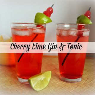 Cherry Lime G & T