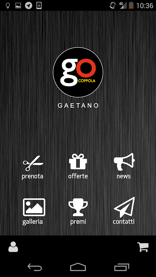 GOGaetano- screenshot