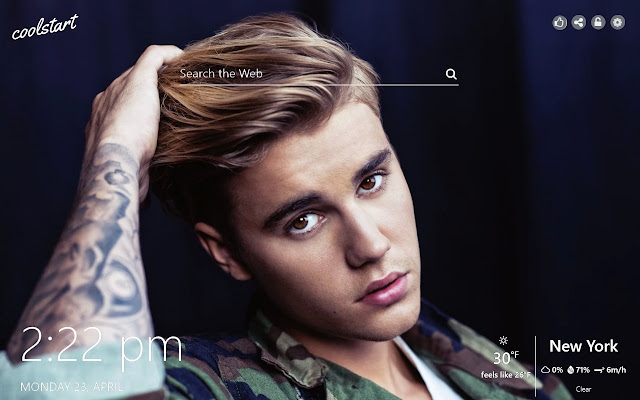 Justin Bieber HD Wallpapers Pop Music Theme