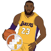 Pixel Art Basketball Sandbox 3D