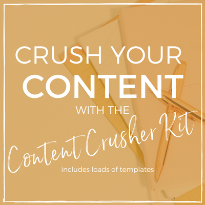 Content Crusher Kit