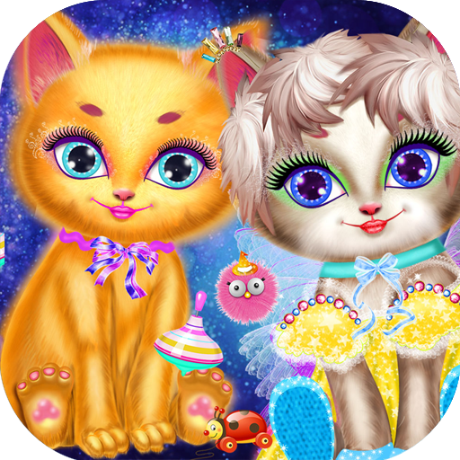 Pet Cat Make Up Salon