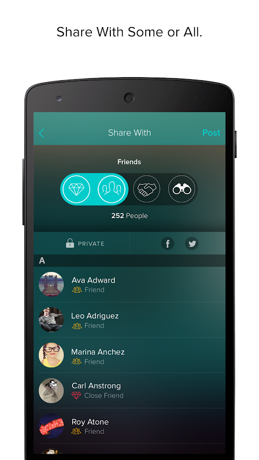 Vero - True Social- screenshot