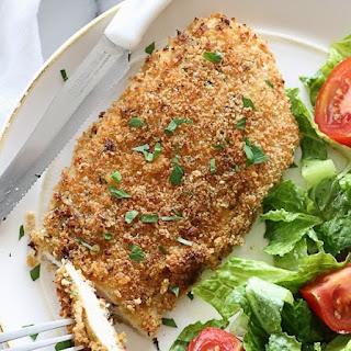 Mustard Herb Crusted Chicken Breasts #Recipe