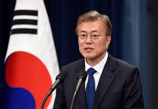 South Korea's President Moon Jae-In.