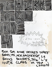 Photo: Things to Die For 2003 8.5 x 11 in india ink on paper