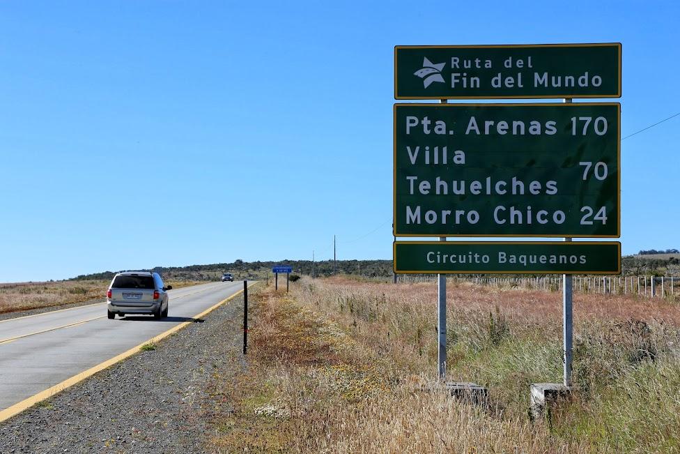 Ruta del Fin del Mondo, Chile