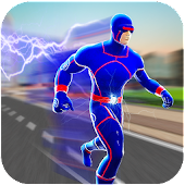 Super Light Speed Hero City Rescue Mission Mod