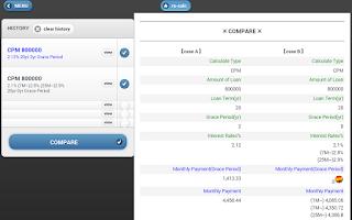 Screenshot of Rick's Mortgage Calculator