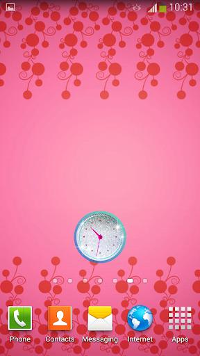 玩免費個人化APP|下載闪亮 时钟 小工具 app不用錢|硬是要APP