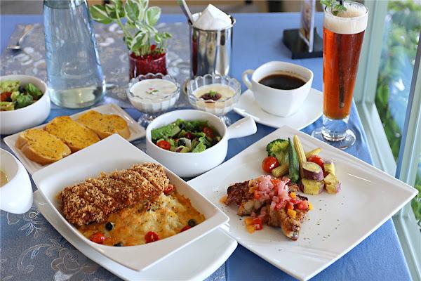 台南美食-巴薩爵斯 來一杯有掌心溫度的莊園咖啡 義大利麵丨燉飯丨法式下午茶